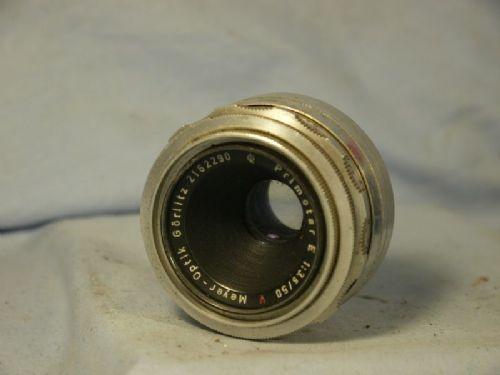 '    3.5 50mm Primotar E -GREAT BOKEH- ' Meyer Primotar E 50MM 3.5 M42 Prime  Standard Lens £64.99
